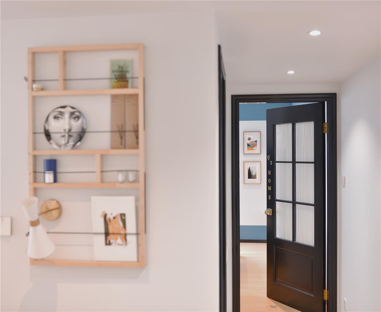 小户型一居室装修置物架设计