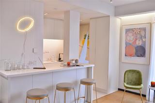 小户型一居室装修吧台设计