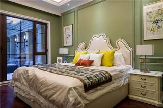 大户型美式风格卧室装修搭配图