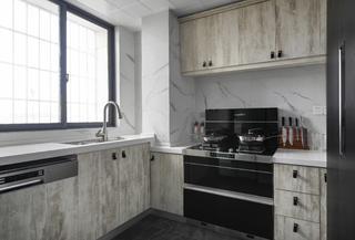 现代简约风三居厨房装修效果图