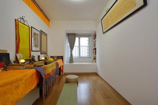 70㎡两居室禅房装修效果图
