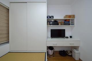 70㎡两居室榻榻米房装修效果图