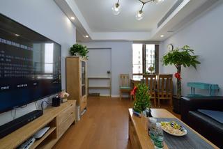 80平两居室客厅装修效果图