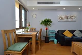 80平两居室餐厅装修效果图
