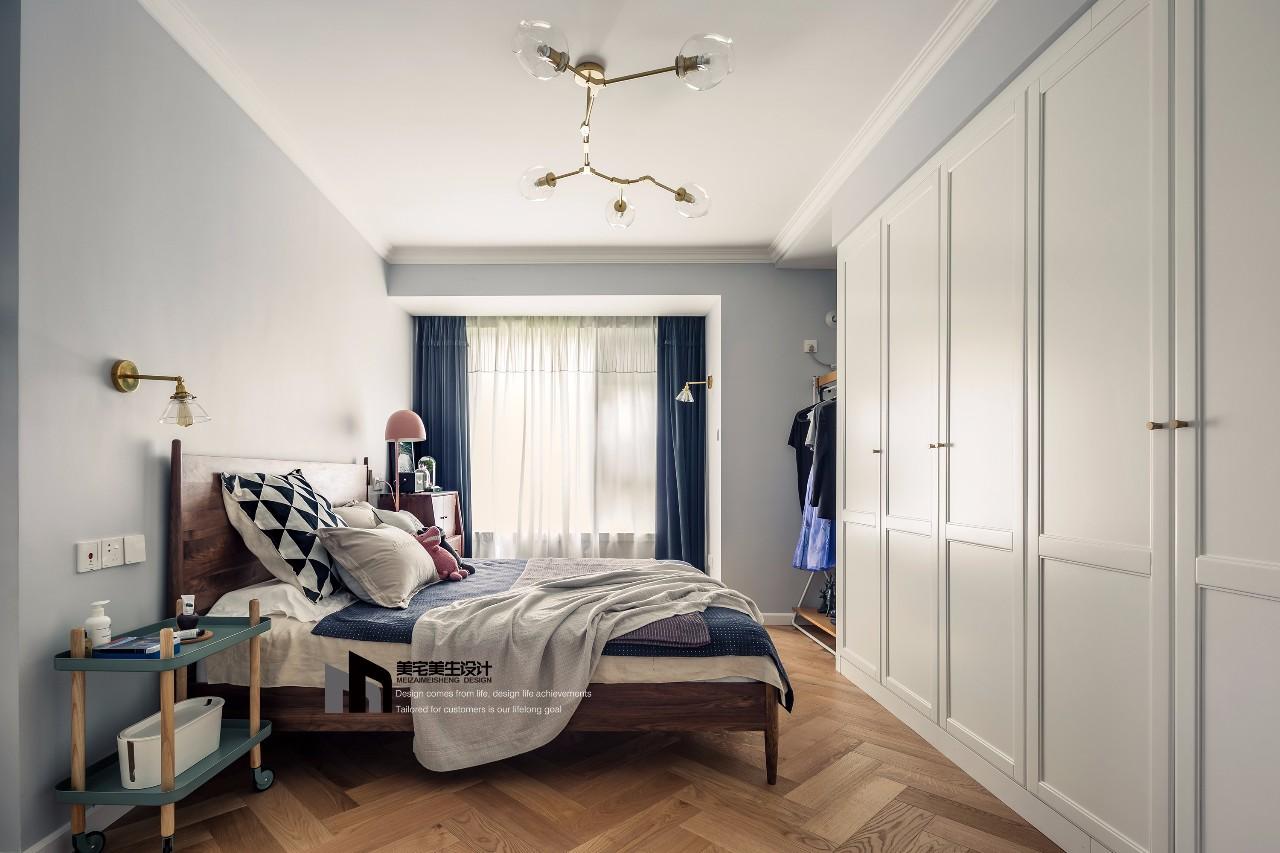 115㎡北欧风卧室装修效果图