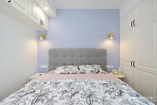 70㎡北欧风卧室装修效果图