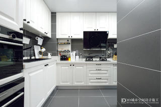 70㎡北欧风厨房装修效果图