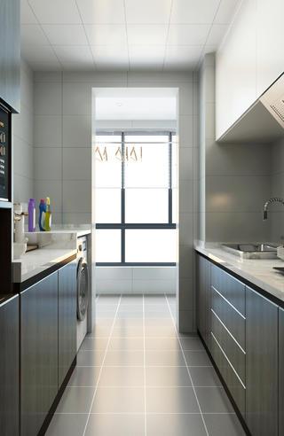 80㎡二居室厨房装修效果图