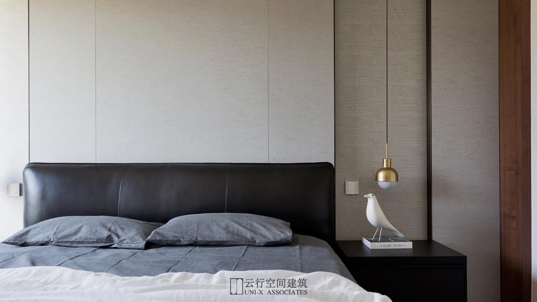现代风格别墅床头背景墙装修效果图