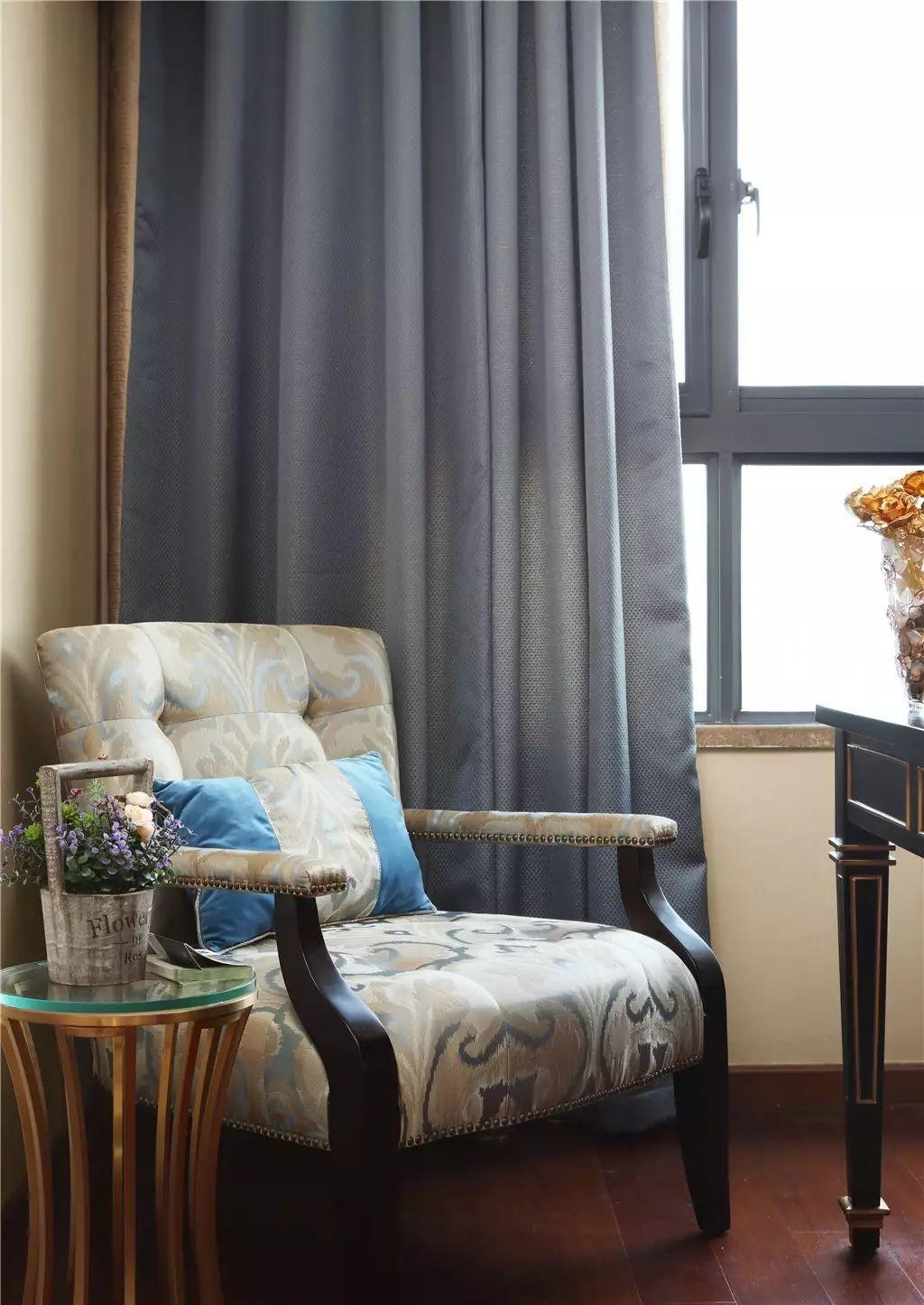138平美式风格装修沙发椅设计