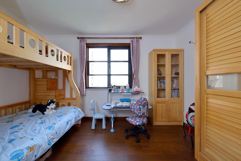 三居室美式风格儿童房装修效果图