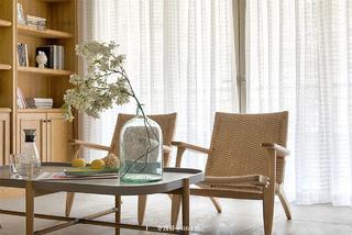 120㎡三居室装修靠背椅设计