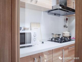 89平北欧风厨房装修效果图
