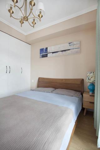 北欧二居卧室装修效果图