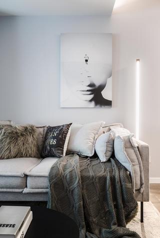 50㎡小户型装修沙发设计