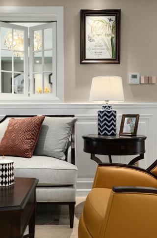 137㎡美式風格裝修沙發一角