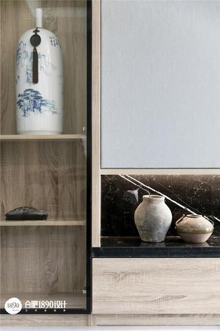 138㎡新中式风格装修展示柜设计