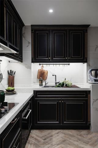 146平米四居室廚房裝修效果圖