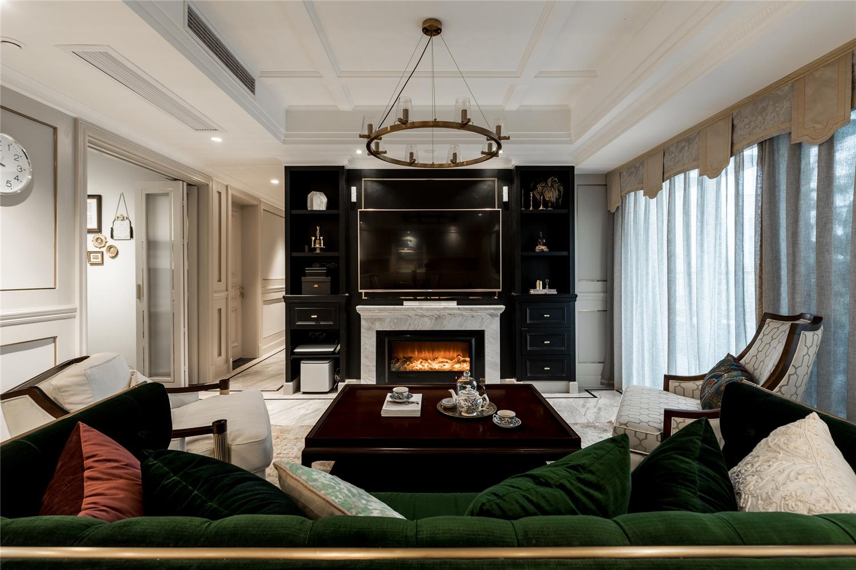 146平米四居室客厅装修效果图