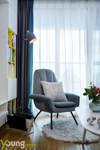 108平北欧风装修休闲椅设计