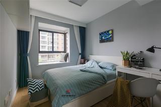 三居室北欧风卧室装修效果图