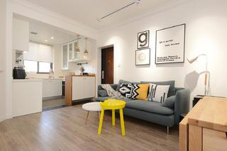 简约北欧二居客厅装修效果图