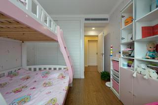 美式风格三居儿童房每日首存送20