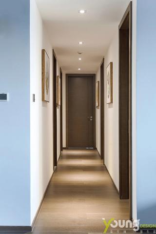 190平新中式走廊装修效果图