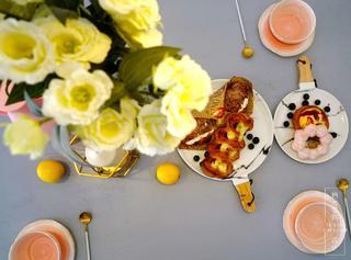 90㎡北欧风两居装修餐桌摆件小景