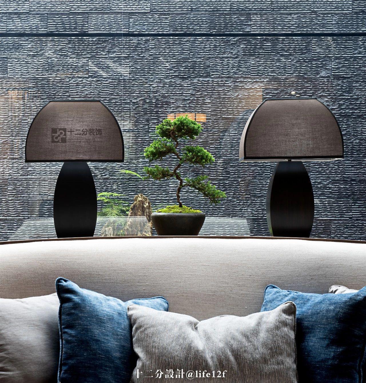新中式风格别墅装修客厅小景