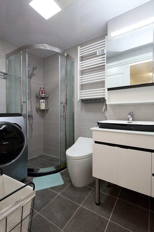 55㎡小户型卫生间装修效果图