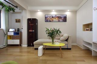 55㎡小户型沙发背景墙装修效果图