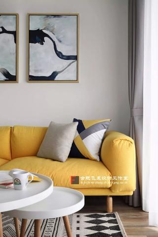 85平米两居室装修沙发设计