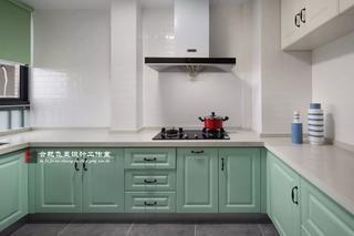 85平米兩居室廚房裝修效果圖