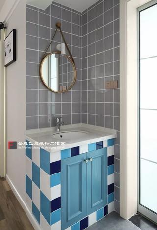 85平米两居室装修洗手台设计