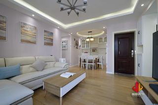 80平米二居客厅装修效果图