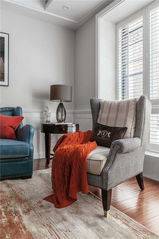 120㎡美式风格装修沙发椅设计