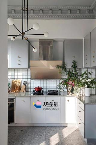 170㎡法式风格厨房每日首存送20