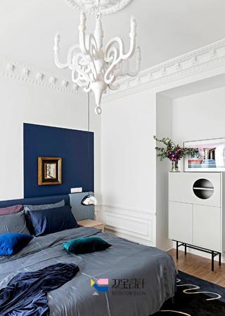 170㎡法式风格装修卧室吊灯设计