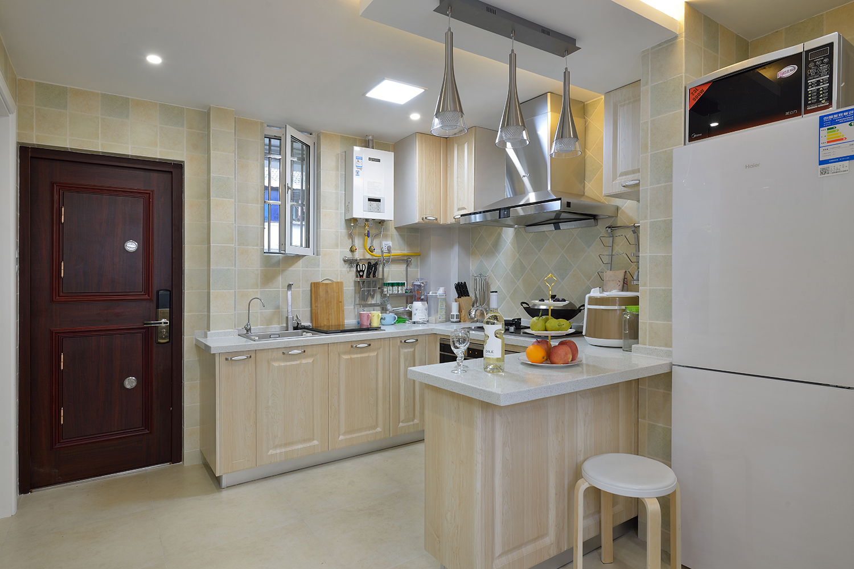 68平米一居室厨房装修效果图