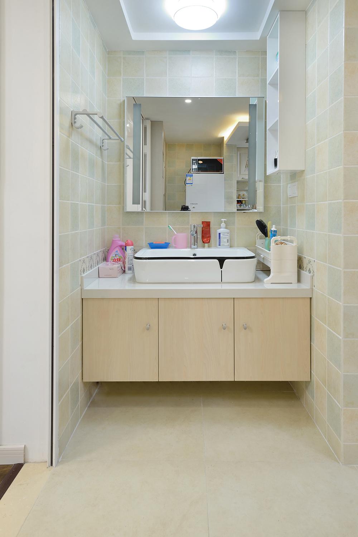 68平米一居室装修洗手台设计