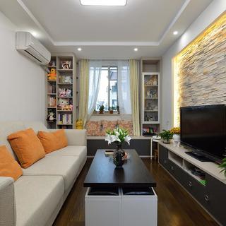 68平米一居室装修效果图