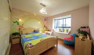 130平现代简约儿童房装修效果图