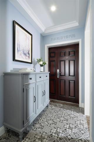 美式风格三居室玄关装修效果图