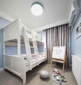 美式风格三居室儿童房装修注册送300元现金老虎机图