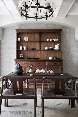 美式风别墅茶室装修效果图