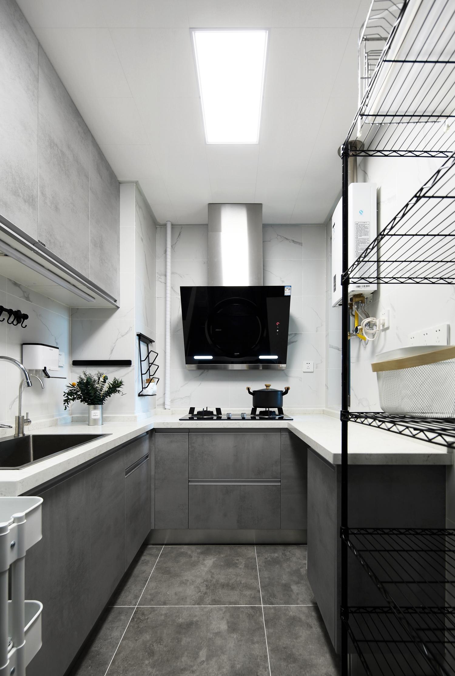 北欧风格两居厨房装修效果图