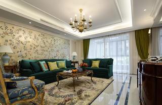 大户型美式风格客厅每日首存送20