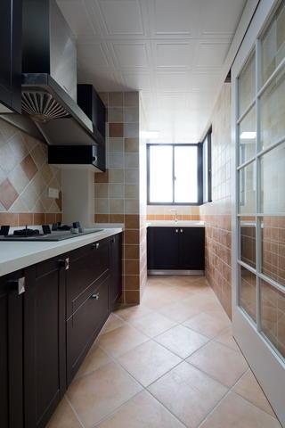 110㎡美式风格厨房装修效果图