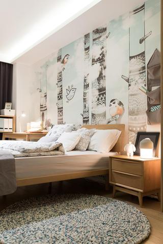 北欧风格四居儿童房装修效果图